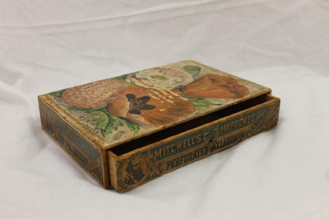 Mitchell's Improved Perforated Belladonna Plasters box,