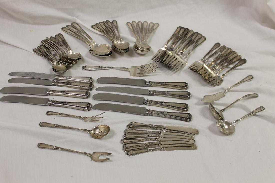 "Towle ""Louis XVI"" sterling silver flatware, with"