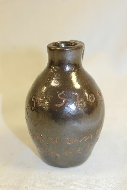 "Miniature scratch jug, ""Horse Shoe Bend Souvinier Mt. V"