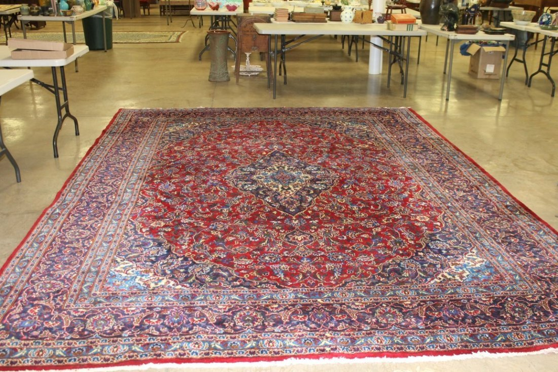 """153"""" X 115"""" Oriental rug with backing"""