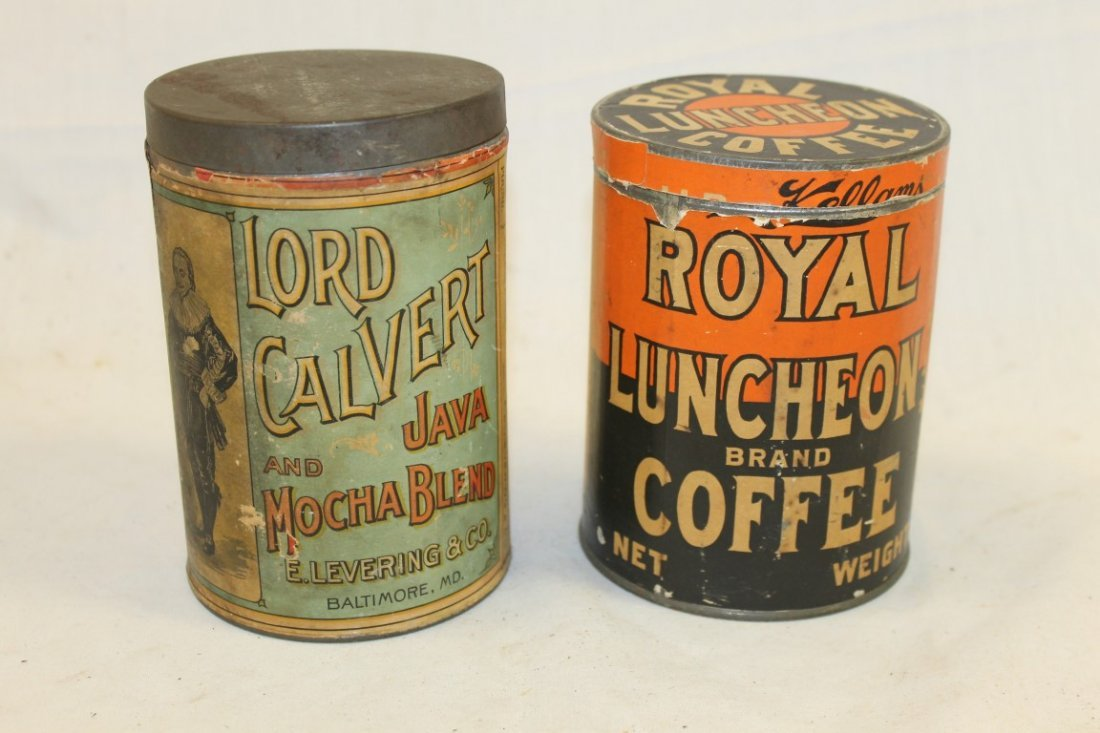 Coffee tins: