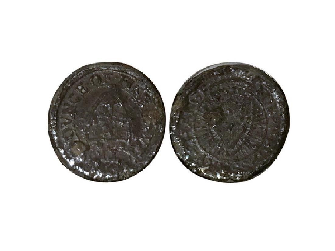 ENGLAND 1654 The Protectorate 1 farthing
