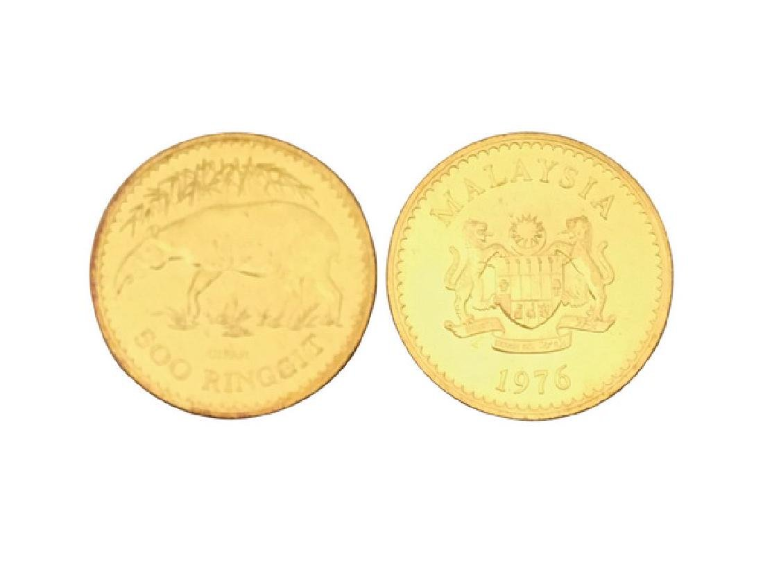 MALAYSIA 1976  500 Ringgit