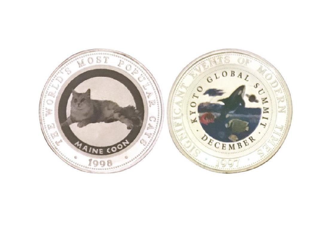 SOMALIA 1997-98 250 shillings Silver Coin (2)