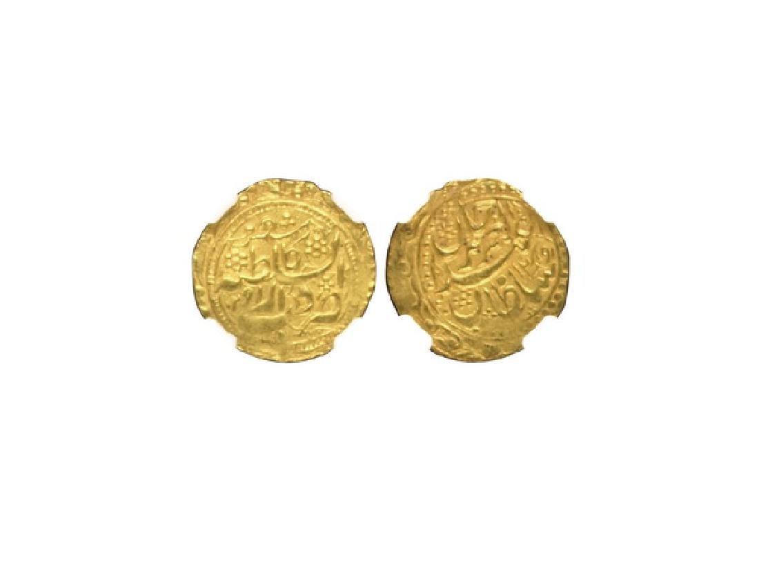 CHINA-SINKIANG 1874 Yakub Beg Tilla Gold Coin