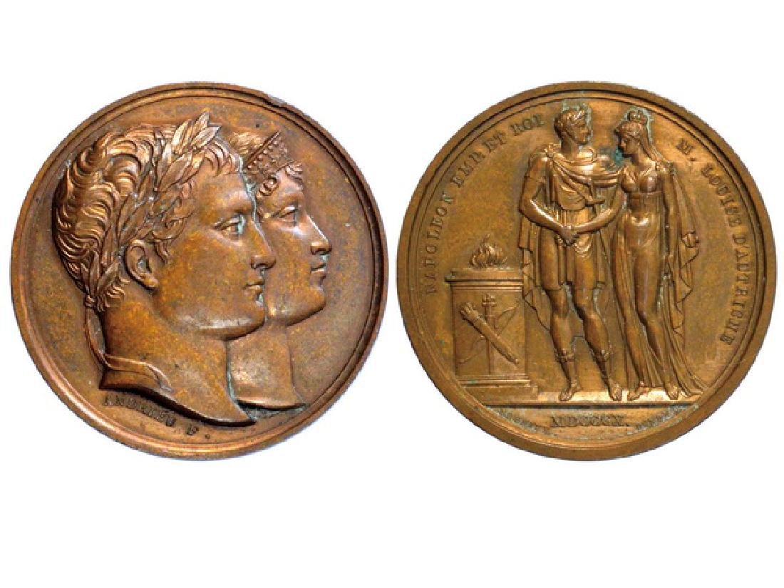 FRENCH 1810 Copper Medal, UNC