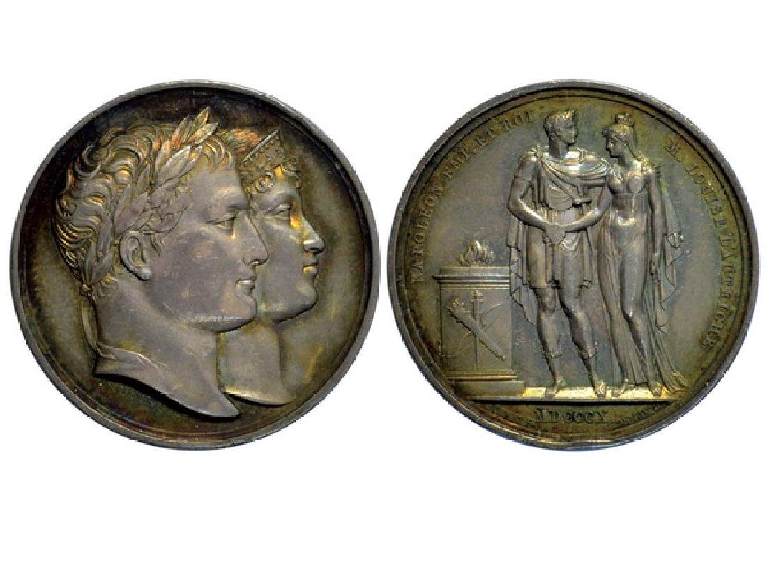 FRENCH 1810 Bronze Medal, AU