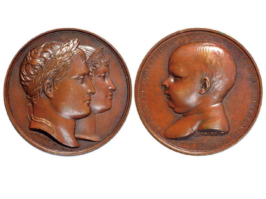 FRENCH 1811 Bronze Medal, UNC