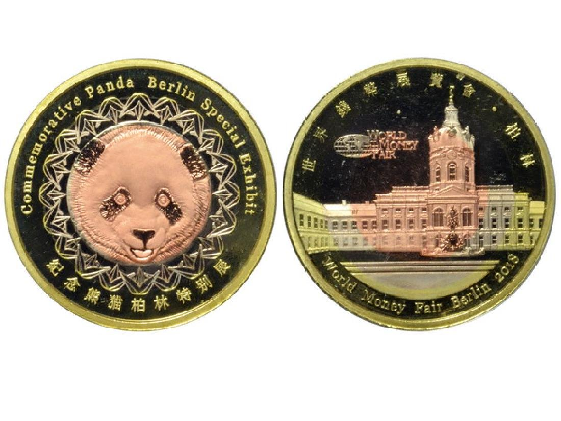 CHINA-BERLIN 2018 World Money Fair Tri-Metallic