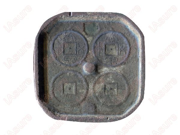 017: CHINA-HAN Dynasty Da Quan 50 Cash Copper Mold, VF