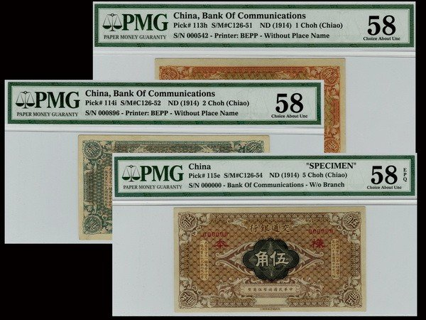 013: CHINA ND(1914) Bank of Communications (3)