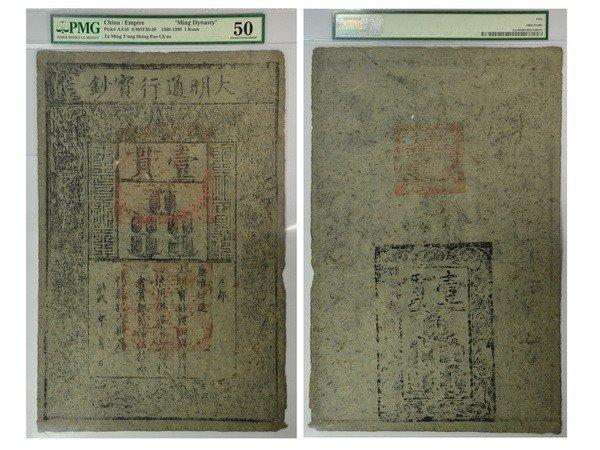 021: CHIN 1368-99 Ta Ming Tung Hsing Pao Chao 1 Kuan