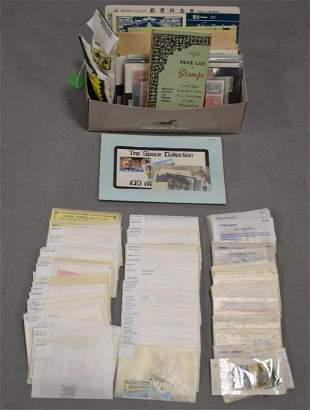 (2) Shoeboxes Full of Foreign Stamps
