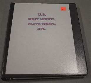 Album of Mint U.S. Stamps