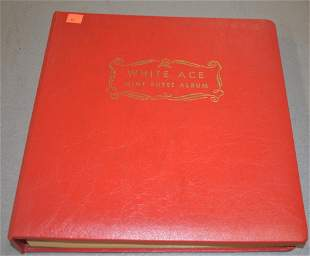 White Ace Mint Sheet Album of U.S. Stamps