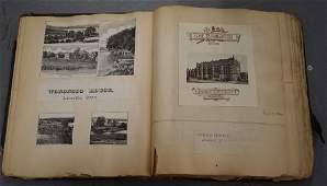 19th Century Vacation Scrap Book