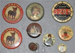 Lot (9) Misc. Small Product Advertising Items