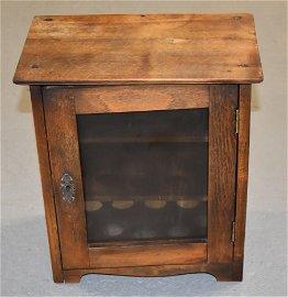 Mission Oak Egg Cabinet