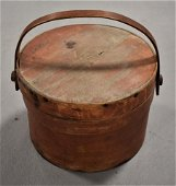 19th Century Painted Pantry Box