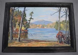 Oil Painting of Mount Monadnock