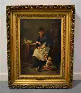 Jonathan Pratt Oil Painting on Canvas