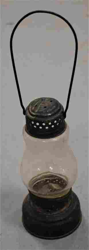 19th Century Tin Skaters Lantern