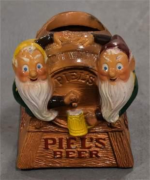Vintage Piels Beer Counter Display