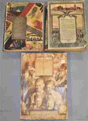 (3) Vintage Dept. Store Catalogs