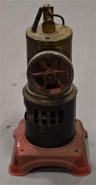 Vintage German Tin Toy Steam Engine