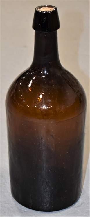 Amber Demi-John Bottle