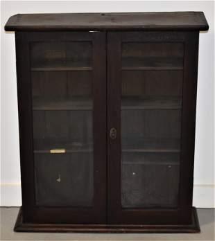 Late 19th Century 2 Door Hanging Cabinet