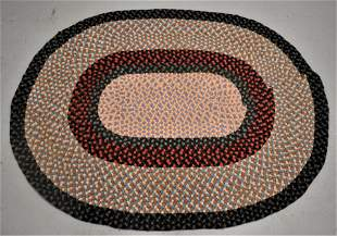 Oval Braided Rug