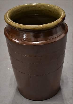 12 Cylinder Stoneware Storage Crock