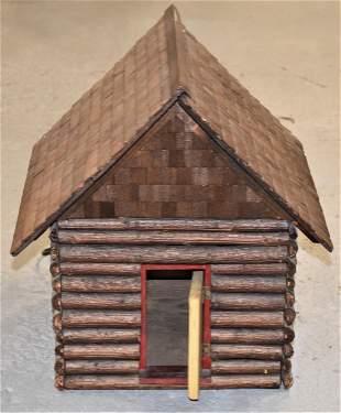 Log Cabin Model Toy