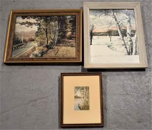 Lot 3 Sawyer Prints