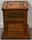 J and P Coats Cotton Thread Store Display Cabinet