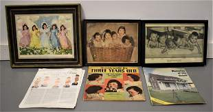 Lot of Dionne Quintuplets Related Ephemera