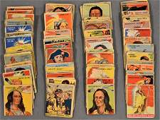 Lot (99) Indian Gum Trading Cards