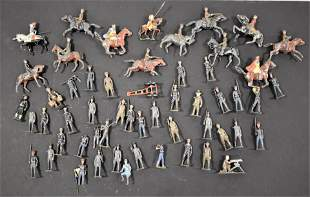 Mixed Lot Painted Lead Soldiers