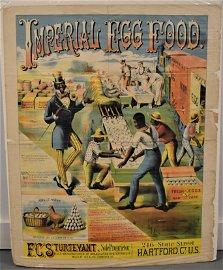 Black Americanan Imperial Egg Advertising Poster