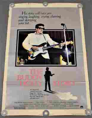 The Buddy Holly Story Movie Poster