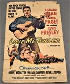 Elvis Presley Love Me Tender Movie Poster