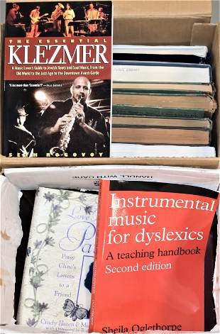 21 Volumes of Books on Music