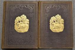 2 Volumes of Books By Frank Forester
