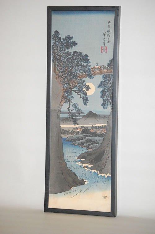 22: JAPANESE DIPTYCH WOODBLOCK PRINT