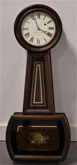 20th Century E. Howard Banjo Clock