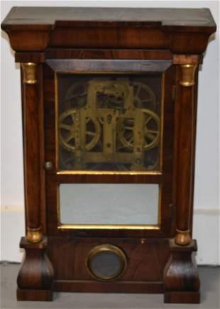 Seth Thomas 12 Column Ogee Shelf Clock
