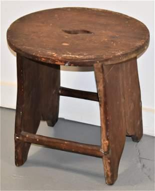 19th Century Pine Stool
