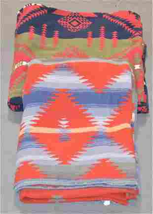 (2) Ralph Lauren Southwest Design Blankets