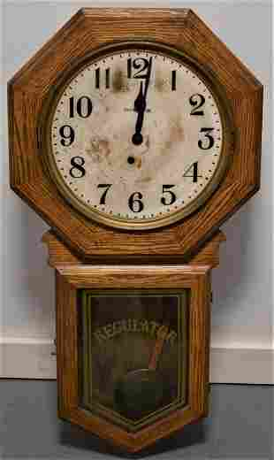 Ingraham Regulator Wall Clock